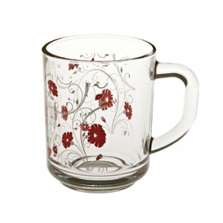 55029 - Кружка красные цветы